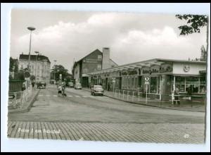 XX12650/ Peine Am Bahnhof 60er Jahre AK