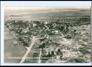 XX12661/ Norddorf auf Amrum Luftaufnahme 60er Jahre AK