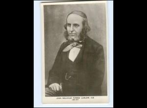 XX12692/ John Malcom Anglo-Indischer Rechtsanwalt, Foto AK