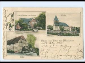 XX12928-3176/ Eltze bei Meinersen Wassermühe AK 1905