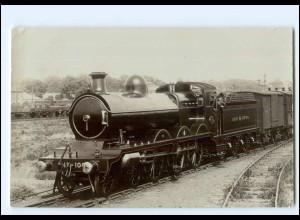 XX14487/ Eisenbahn Lokomotive England Locomotive-Magazine Series Nr.1010 Foto AK