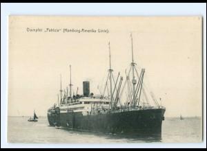 XX12840/ Dampfer Patricia Hamburg-Amerika-Linie AK ca.1912