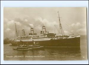 XX12841/ Dampfer Reliance Hamburg-Amerika-Linie Foto AK 1929