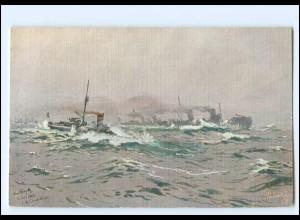 XX12900/ Tuck`s AK Marine Kriegsschiff - Depeschenboot H. Bohrdt WK1