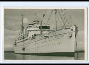 XX12888/ Dampfer Milwaukee HAPAG Foto AK 1938