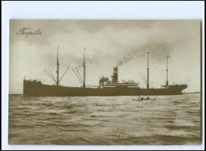 XX12863/ Dampfer Tirpitz Foto AK ca.1925