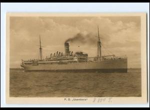 XX12862/ Postdampfer Usambara AK ca.1925