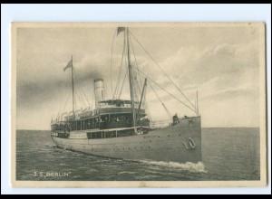XX12882/ Dampfer S.S. Berlin AK ca.1912