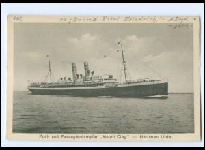 XX12884/ Dampfer Mount Clay - Harriman Linie AK ca.1925
