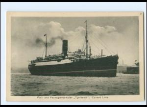 XX12846/ Dampfer Tyrrhenia Cunard Linie AK ca.1925