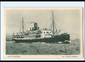 XX12848/ Dampfer Adria-Carnaro Lloyd Trieste AK ca.1925