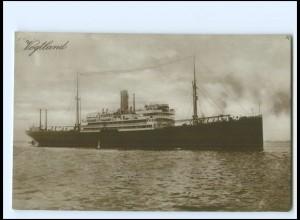 XX12850/ Dampfer Vogtland Foto AK ca.1925
