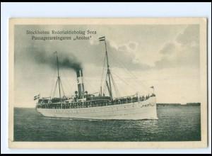 XX12851/ Dampfer Aeolus Stockholms Rederiaktiebolag Svea AK Schweden 1925