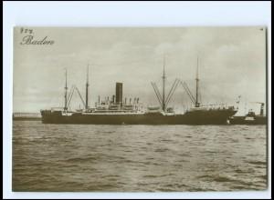 XX12854/ Dampfer Baden Foto AK ca.1925