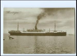 XX12856/ Dampfer Thuringia Foto AK ca.1925