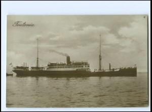 XX12858/ Dampfer Teutonia Foto AK ca.1925