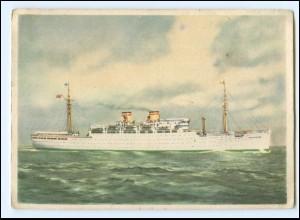 XX12871/ Dampfer Milwaukee Hamburg-Amerika-Linie Ak ca.1935 HAPAG