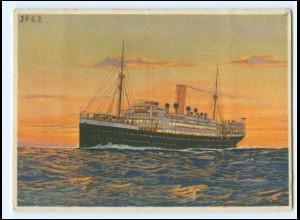 XX12874/ Dampfer Lützow Nordd. Lloyd AK ca.1935