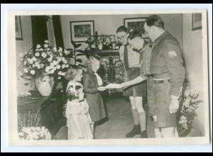 S2582/ Prinzessin Marijke Niederlande Pfadfinder Foto AK 1947
