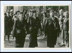 S2583/ Königin Juliana Niederlande Pfadfinder-Centrum Buitenzorg Foto AK 1949