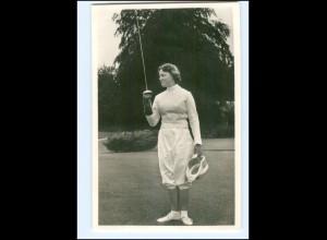 S2592/ Prinzessin Irene von Niederlande Fechten Foto AK ca.1955