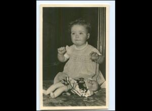 S2595/ Prinzessin Marijke mit Puppe Foto AK 1948 Niederlande