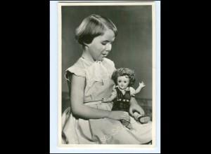 S2596/ Prinzessin Marijke mit Puppe Foto AK 1955 Niederlande
