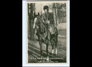 S2600/ Prinz Bernhard als Rittmeister der Husaren Foto KA 1937 Niederlande