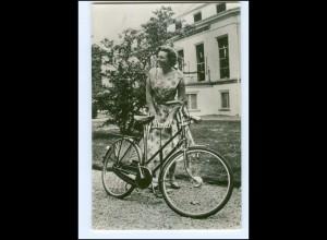 S2602/ Prinzessin Beatrix mit Fahrrad Niederlande Foto AK 1959