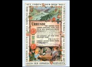 Y18796/ Rüdesheim Drosselgasse Wein AK 1933