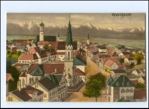 Y19021/ Weilheim Obb. AK 1920