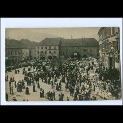 Y19021/ Prachatiz Prachatice Tschechien Foto AK 1916
