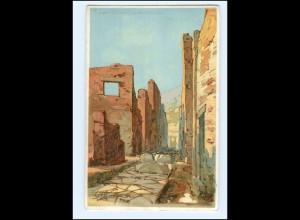 Y19565/ Pompei Litho Künstler AK ca.1900 Italien