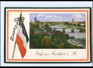 Y18824/ Frankfurt M. Patriotik 1915 AK