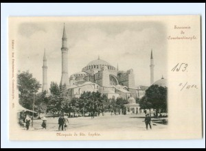 XX13349/ Constantinople Konstantinopel Türkei Moschee St.e Sophie AK 1902