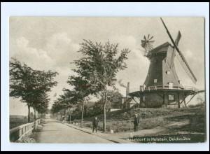 XX13120-2081/ Haseldorf in Holstein Windmühle AK 1933
