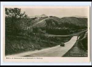 XX13422/ Nürburgring Steilstrecke der Autorennbahn Foto AK ca.1935