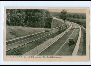 XX13418/ Reichsautobahn Kassel - Güttingen vom Humboldblick gesehen AK 1941