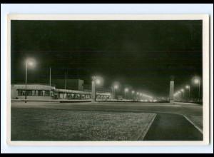 XX13416/ Mannheim Einfahrt der Reichsautobahn Foto AK ca.1938
