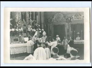 XX13413/ Weihbischof Scharnagl in St. Michael München 1943 Foto AK