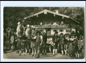 XX13284-8230/ Weißbach bei Schneizlreuth Bauernhochzeit 1932 Foto AK