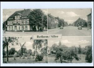 XX13328-2818/ Rethem Aller Windmühle, Langestraße ca.1960 AK