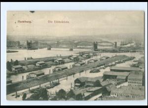 XX13324/ Hamburg Elbrücken AK 1905
