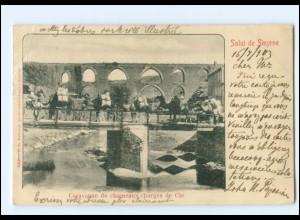 XX13126/ Smyrne Caravanne Türkei Stempel: Österreichische Post 1903