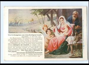 XX13463/ Jerusalem Österreichische Post 1899 AK Ein Liebesgruß ...