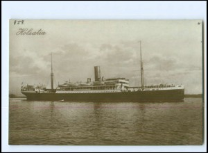 XX13129/ Dampfer Holsatia Foto AK ca.1925