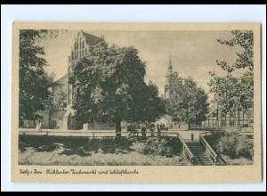 XX13293/ Stolp Pommern Mühlentor Fischmarkt AK ca.1940