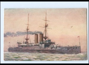 XX13196/ H.M.S. Russell Kriegsschiff Marine Tuck`s AK 1910