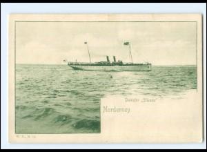 XX13130/ Dampfer Silvana Nordernry AK ca.1900