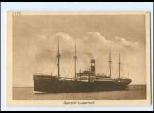 XX13141/ Dampfer Ludendorff AK ca.1925